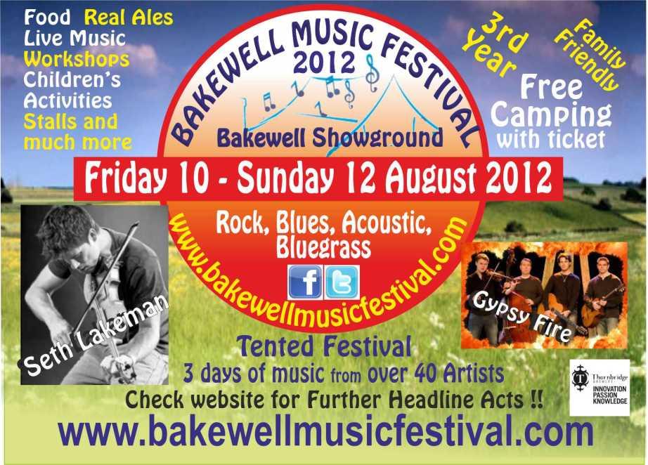 bakewell music festival
