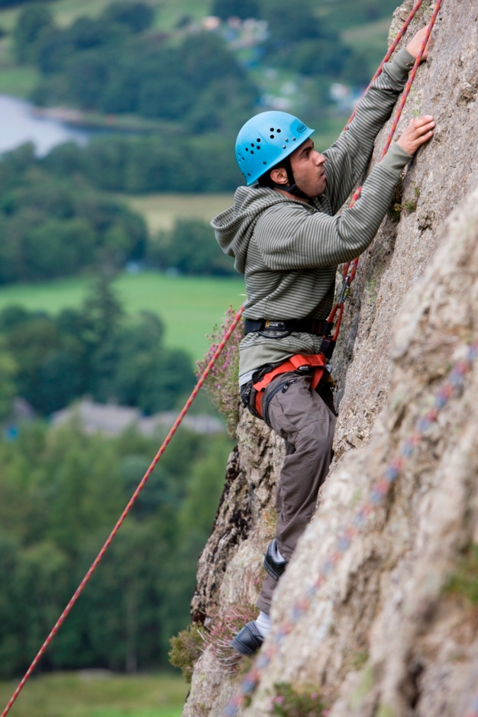Rock Climbing - Action Adventure