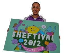 Jess Ennis Sheftival