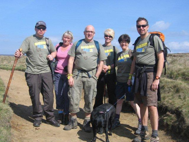 marie curie cancer care mam tor challenge