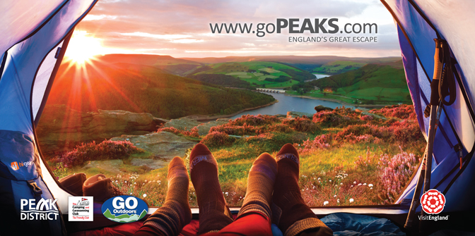 gopeaks.com camping billboard