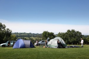 camping in derbyshire callow top holiday park