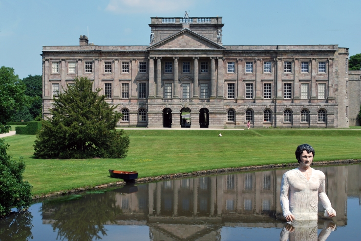 Mr Darcy at Lyme Park