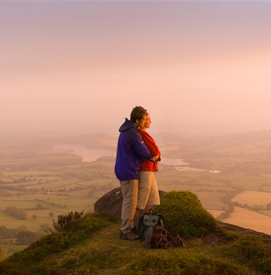 Couple at the Roaches