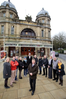 Creative England Photo call outside The Buxton Opera House