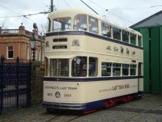Sheffields last tram