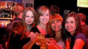 Ladies at Beer Festival