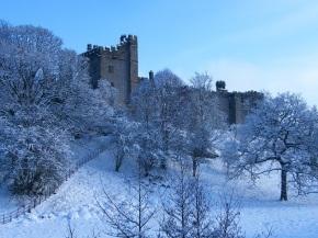 Haddon Hall In Winter
