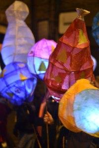 Bolsover Lantern Parade lights up the town