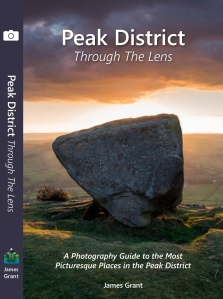 book cover Peak District Through The Lens by James Grant