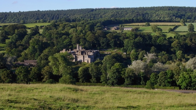 Haddon Hall From a distance