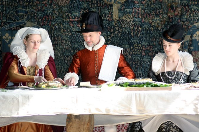 Tudor Group at Haddon Hall, Derbyshire