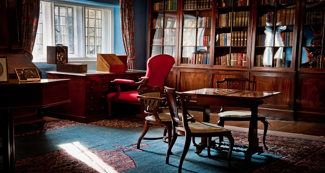 Eyam Hall Library