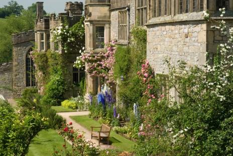 Haddon Hall garden blog
