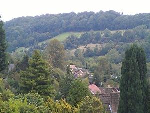 Bridge Hill House B&B Belper. view